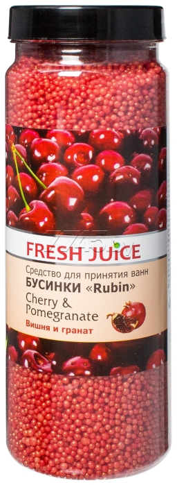 Средство для ванн FRESH JUICE Cherry&Pomegranate 450 г (4823015925146)