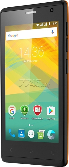 Смартфон PRESTIGIO Wize OK3 4GB Orange (PSP3468DUO)