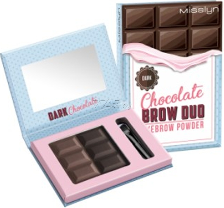Пудра для бровей MISSLYN Brow Duo Eyebrow Powder тон 6 (4051564502697)