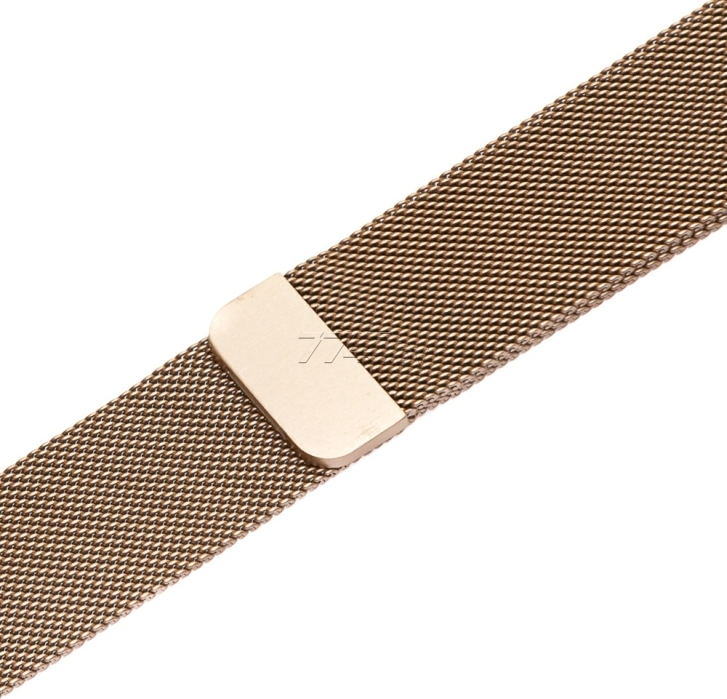 Ремешок EVOLUTION Milanese Loop для Apple Watch 38/40 мм AW40-ML01 Retro Gold - Фото 2
