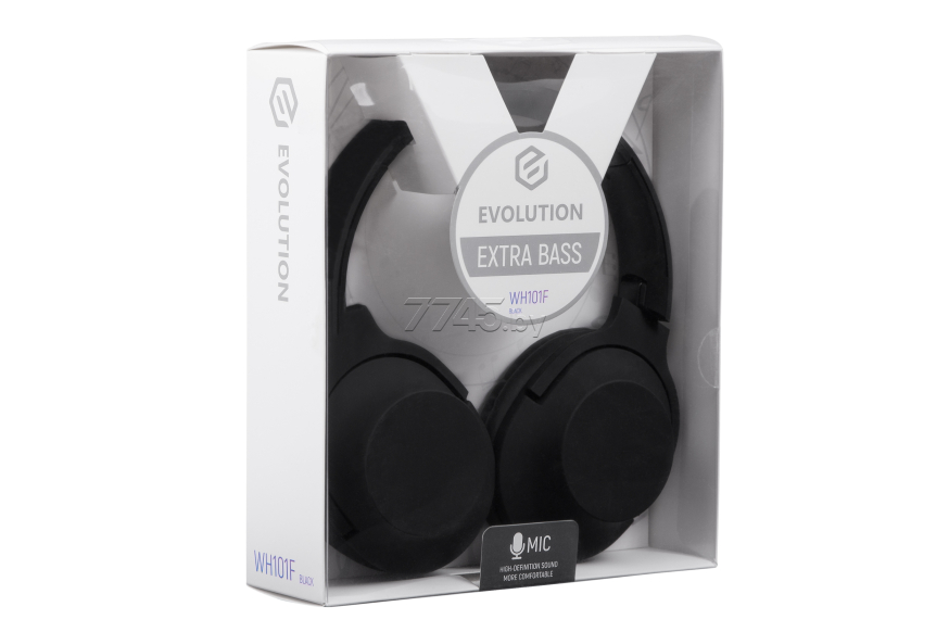 Наушники EVOLUTION WH101F Black