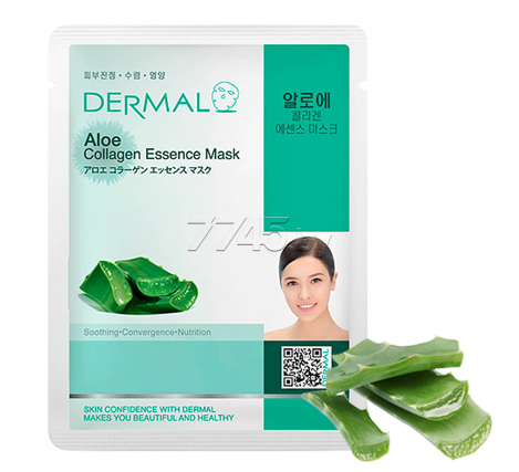 Маска DERMAL Aloe Collagen Essence Mask 23 г (850354)