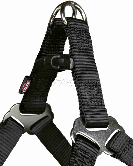 Шлейка для собак TRIXIE One Touch Harness S 15 мм 40-50 см карамель (204414) - Фото 2
