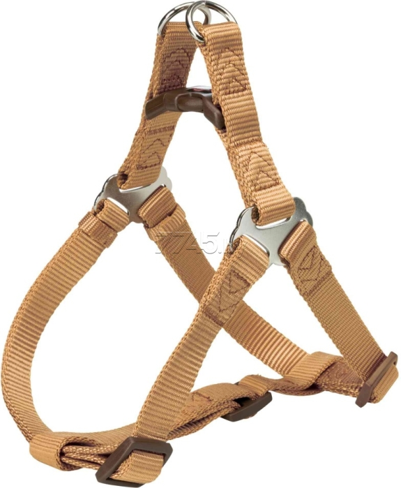Шлейка для собак TRIXIE One Touch Harness S 15 мм 40-50 см карамель (204414)