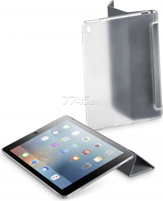 "Чехол для планшета CELLULARLINE iPad Pro 9,7"" Clear View Case (CLEARVIEWIPAD7D) серый"