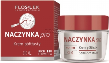 Крем FLOSLEK Dilated Capiliaries Skin Care Semi-rich Cream Полужирный 50 мл (5905043001265)