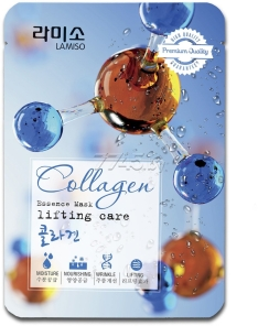 Маска LA MISO Collagen Essense Mask Lifting Care 23 г (8809087932196)