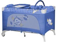 Манеж-кровать LORELLI Travel Kid 2 Blue Baby Owl (10080221418)