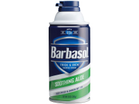 Крем-пена для бритья BARBASOL Soothing Aloe Смягчающая 283 г (0051009002731)