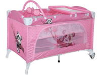 Манеж-кровать LORELLI Travel Kid 2 Pink Panda (10080221637)