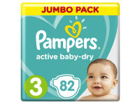 Подгузники PAMPERS Active Baby-Dry 3 Midi