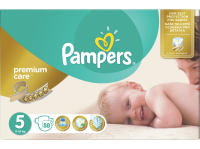 Подгузники PAMPERS Premium Care 5 Junior 11-18 кг