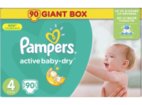 Подгузники PAMPERS Active Baby-Dry 4 Maxi 8–14 кг