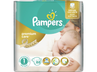 Подгузники PAMPERS Premium Care 1 Newborn (2 - 5 кг)