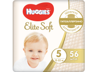 Подгузники HUGGIES Elite Soft 5 Junior 12–22 кг