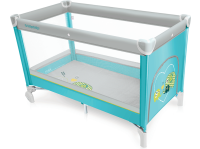 Манеж-кровать BABY DESIGN Simple New 05 Turquoise (00783)