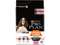 Корм для пожилых собак сухой PURINA PRO PLAN Optiderma Medium&Large Sensetive Skin