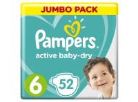 Подгузники PAMPERS Active Baby-Dry 6 Extra Large