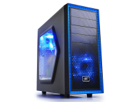 Компьютер HAFF Maxima игровой (core i7-8700/16/1000/120/DVD/1060 6GB/600W) Black