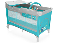 Манеж-кровать BABY DESIGN Dream 2016 05 Turquoise (00656)