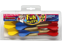 Дротики HARROWS Fun Darts Steeltip 9 штук