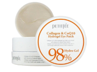 Патчи под глаза PETITFEE Collagen& Co Q10 Hydrogel Eye Patch 60 штук (8809239800458)