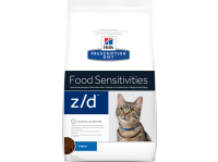 Корм для кошек сухой HILLS Prescription Diet Feline z/d Food Sensitivities 2 кг