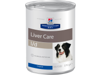 Консервы для собак HILLS Prescription Diet Canine l/d мясо 0,37 кг