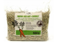 Сено для грызунов NATURES BEST Mountain Hay + Carrot с морковкой 0,5 кг