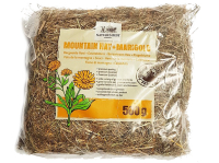 Сено для грызунов NATURES BEST Mountain Hay + Marigold с календулой 0,5 кг