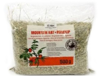 Сено для грызунов NATURES BEST Mountain Hay + Rosehip с шиповником 0,5 кг