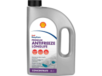 Антифриз G12+ красный SHELL Premium Antifreeze 774 D-F 4 л