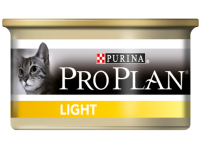Консервы для кошек PURINA PRO PLAN Light паштет с индейкой 85 г