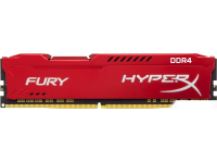 Оперативная память DDR IV 16Gb PC-19200 2400MHz KINGSTON HyperX Fury Red