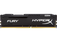 Оперативная память DDR IV 16Gb PC-21300 2666MHz KINGSTON HyperX Fury Black