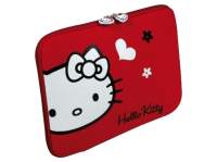 Чехол для ноутбука HELLO KITTY SKIN Black Flowers 15,6'' PortDesigns (HKNE15BL)