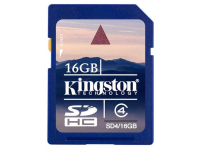 Карта памяти KINGSTON SecureDigital 16GB