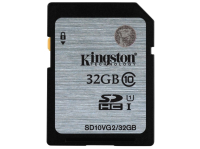 Карта памяти KINGSTON 32GB Class10 (SD10VG2/32GB)