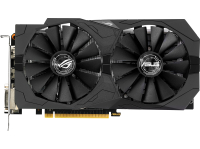 Видеокарта ASUS GeForce GTX1050 ROG Strix 2GB GDDR5 <STRIX-GTX1050-O2G-GAMING> (2048MB, GDDR5, 128 b